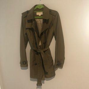 Michael Kors Green fall coat